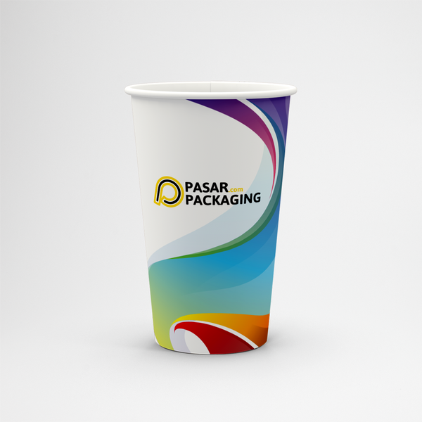 22oz Cold Paper Cup - Express