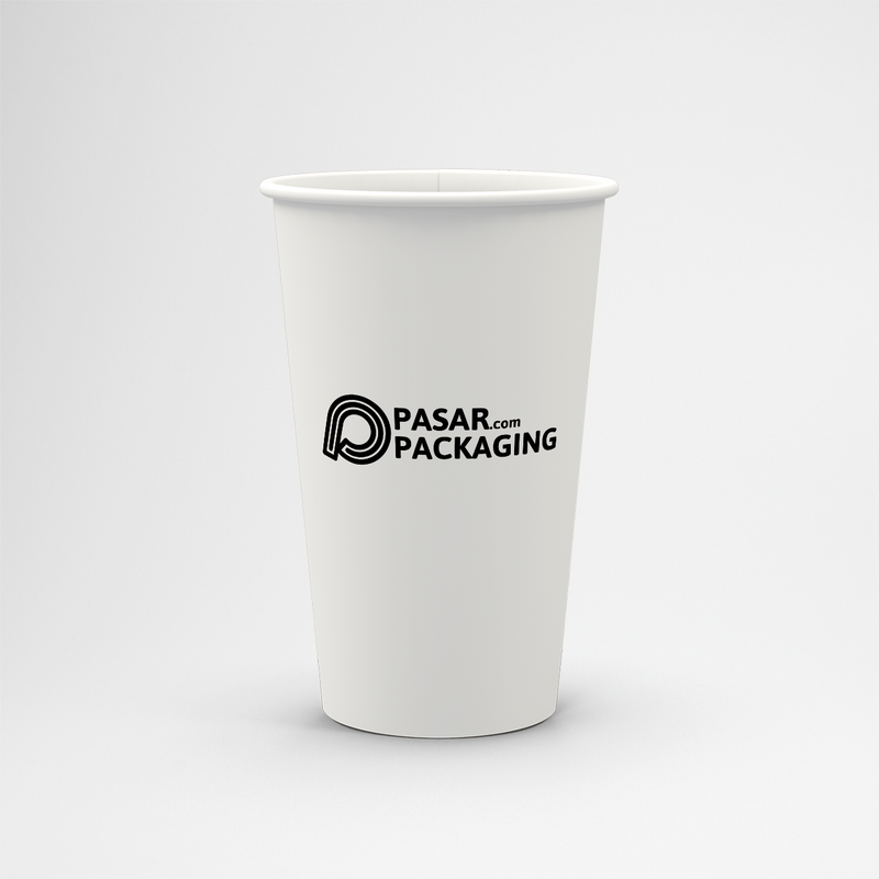 22oz Cold Paper Cup - Sablon - Pasar Packaging