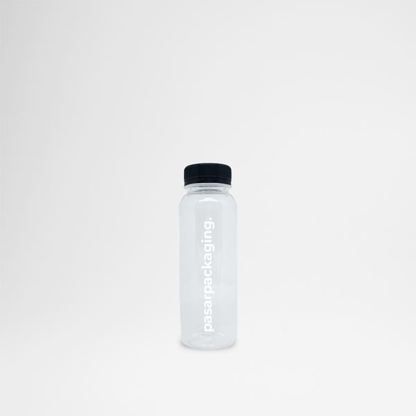 250ml PET Bottle - Sablon - Pasar Packaging