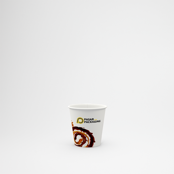 4oz Hot Paper Cup - Printed - Pasar Packaging