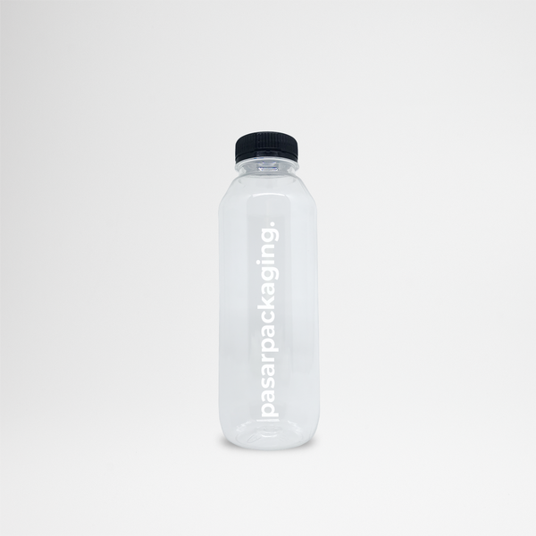 500ml PET Bottle - Sablon - Pasar Packaging