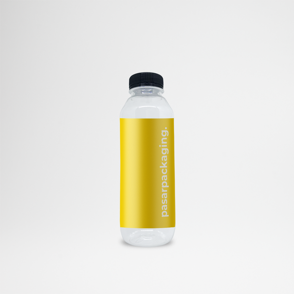500ml PET Bottle + Sticker - Pasar Packaging