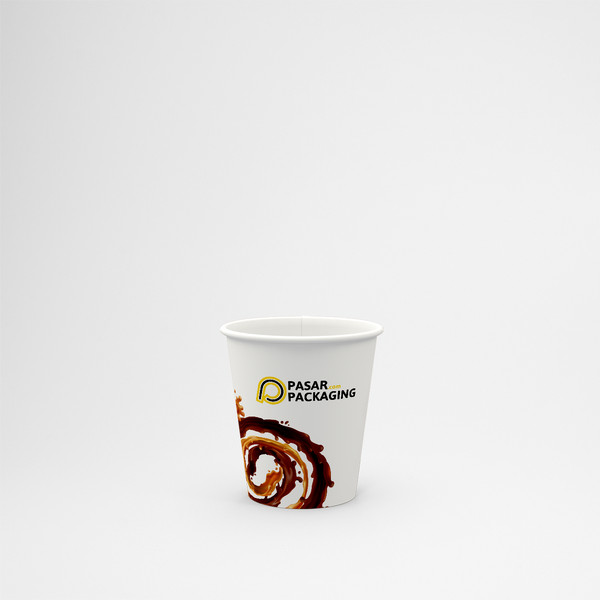 6.5oz Hot Paper Cup - Printed - Pasar Packaging