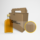 4 Bottles Box Carrier - Sablon - Pasar Packaging