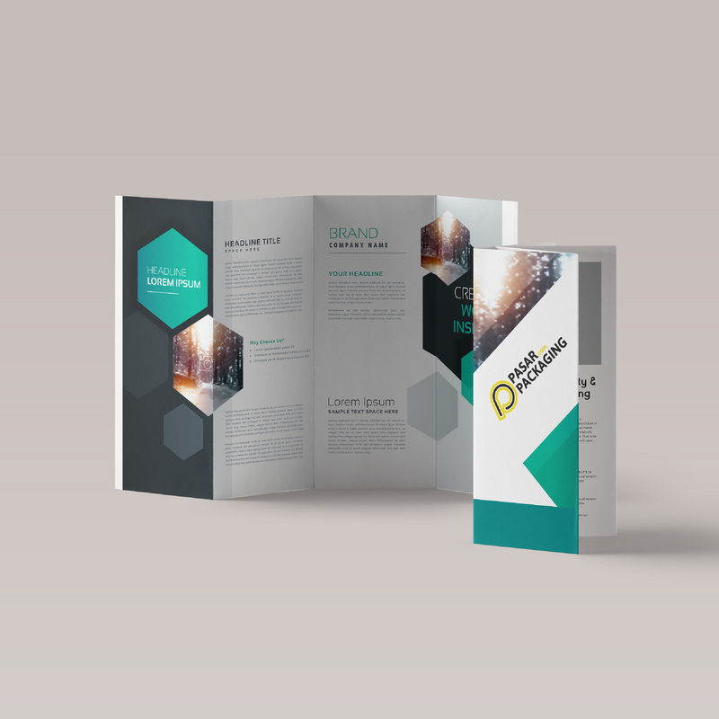 Brochure Quarter-Fold - Pasar Packaging