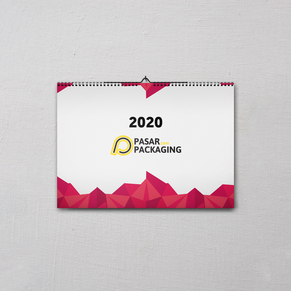 Landscape Wall Calendar - Pasar Packaging