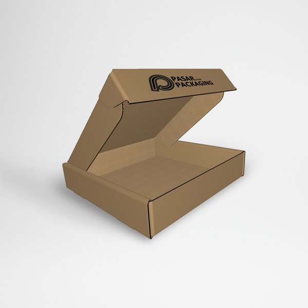 25x25x10 Tray Hinged Lid Box – Sablon - Pasar Packaging