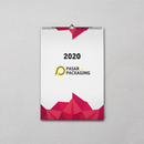 Portrait Wall Calendar - Pasar Packaging