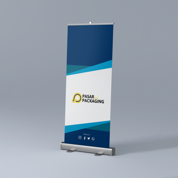 Roll Banner - Pasar Packaging