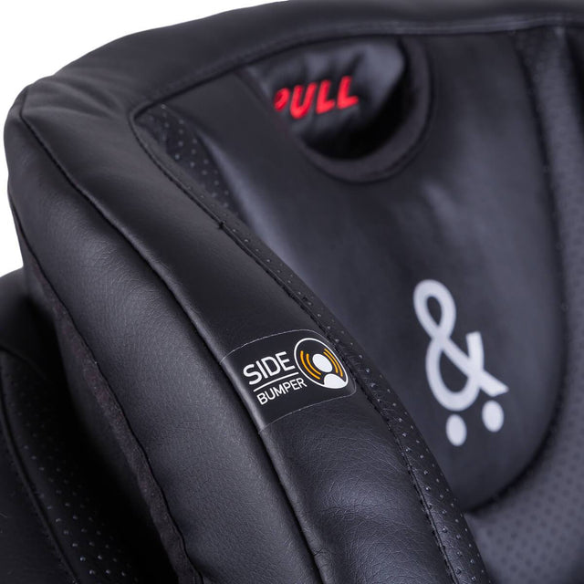 phil&teds columbus car seat close up of bumper impact technology_black