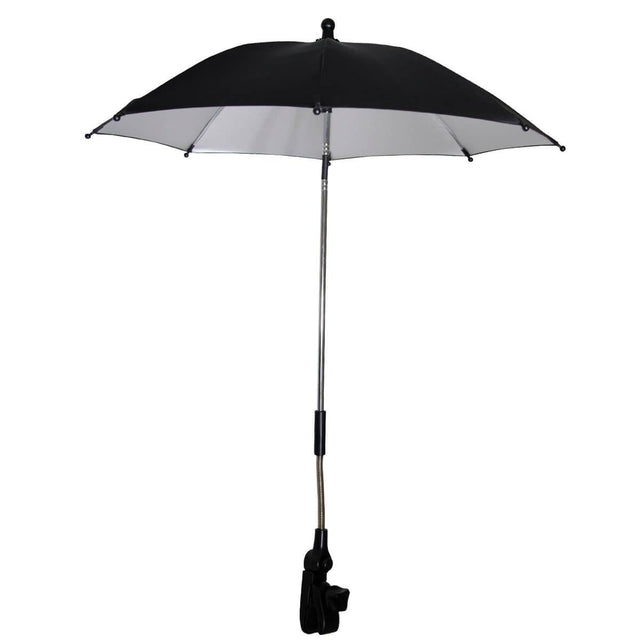 phil&teds shade stick umbrella fully open_black