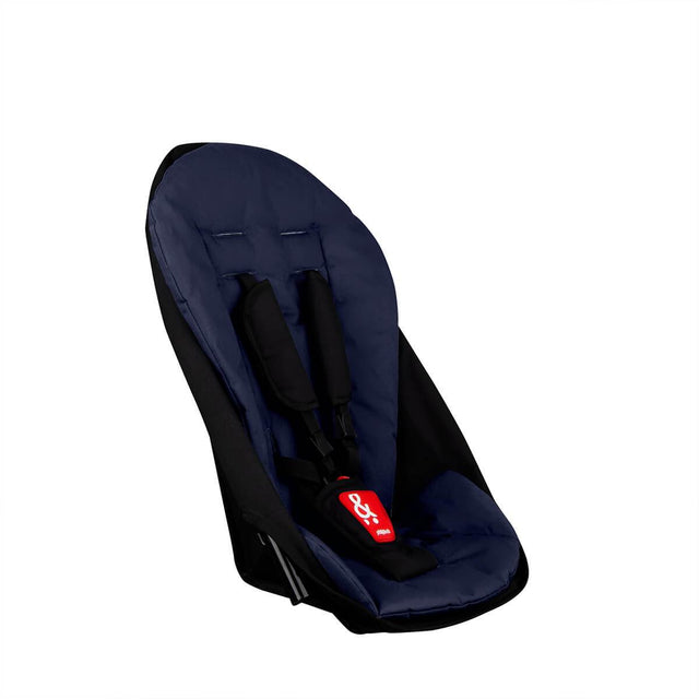 phil&teds sport navigator inline stroller double kit in midnight blue 3qtr view_midnight