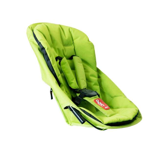 phil&teds sport navigator inline stroller double kit in apple green 3qtr view_apple