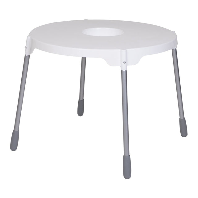 phil&teds poppy table top shown used with required additional poppy highchair legs_white