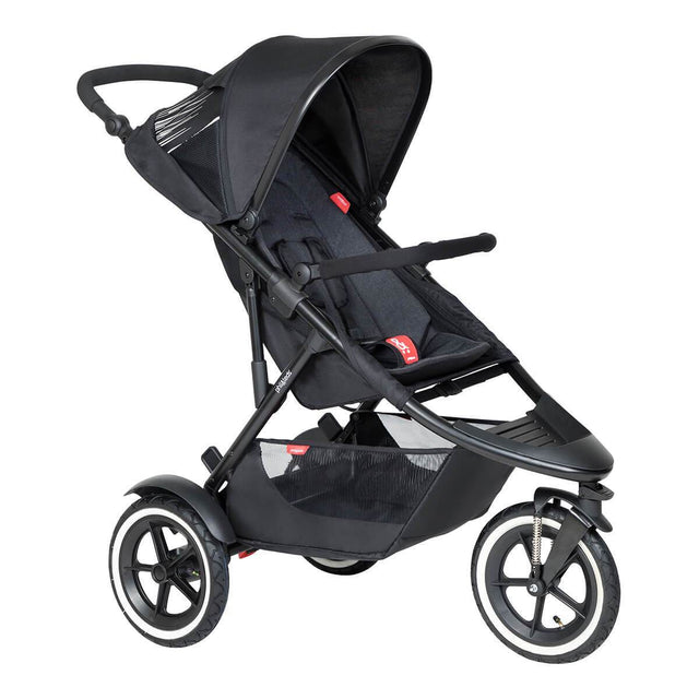 phil&teds inline sport buggy in black colour