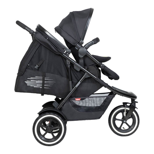 phil&teds sport inline buggy with soft cocoon accessory is perfect for sleep