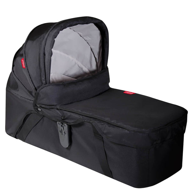 phil&teds 2015-2019 snug carrycot 3/4 view_black