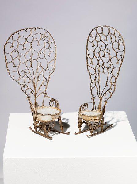"Metal Tramp Art Chairs, from Eric Oglander's ""Tihngs"""