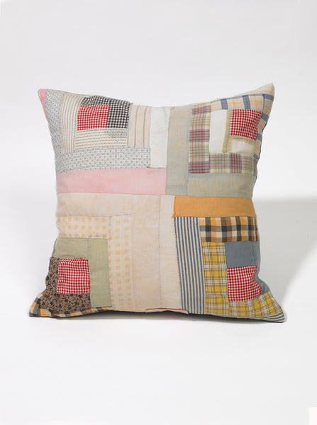 Bode Log Cabin Pillow