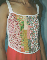 Juliette Top with Chinese Rose Embroidery