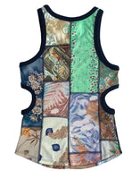 Susannah Tank Top in Patchwork