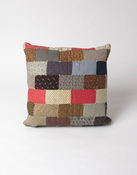 Bode Brick Quilt Pillow