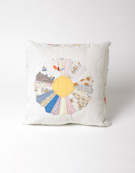 Bode Grandmother's Garden Quilt Pillow