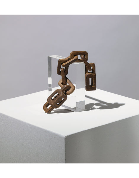 "Short Wooden Chain, from Eric Oglander's ""Tihngs"""