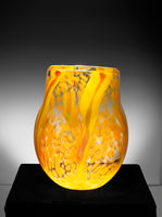 Fire Vase, Paul Arnhold Glass