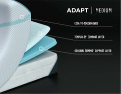 "Tempur-Adapt 11"" Medium Mattress benefits"