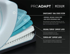 ProAdapt Medium Mattress details