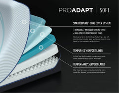 "ProAdapt 12"" Soft Mattress details"
