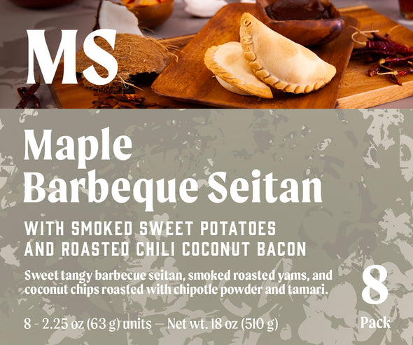 Maple Barbeque Seitan