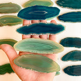 Reserved For Kurt: 150 Mixed Variety Agate Place Cards
