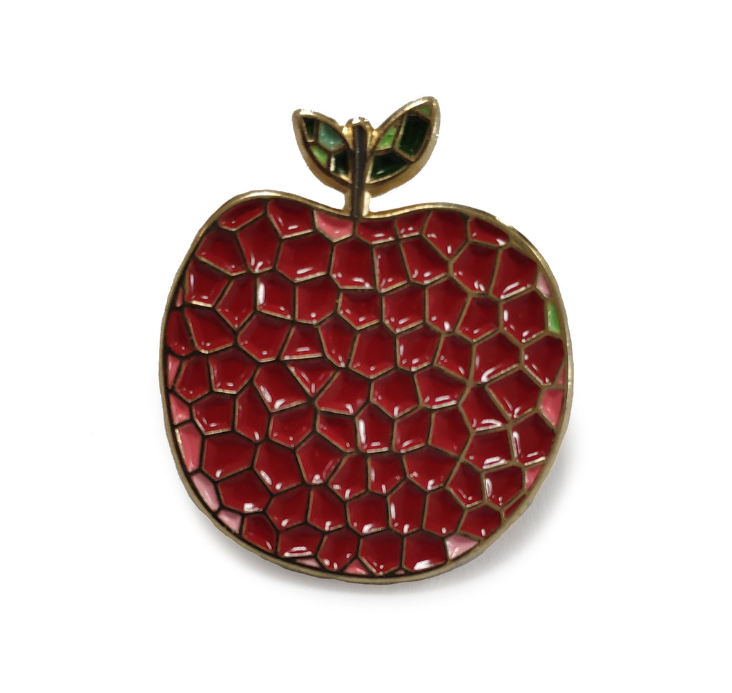 Art Apple Pin
