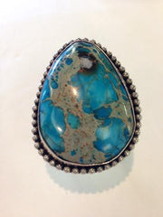 Blue Mountain Turquoise Ring