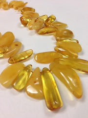 Chunky Butterscotch Amber Necklace