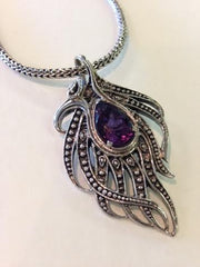Freeform Ameythst Necklace