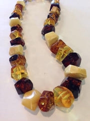 Butterscotch and Honey Amber chunky necklace