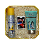 Super Smelly - Zero Toxin Free and Natural Super Smell and Skin Care Gift Pack for Boys, with Deodorant, Pocket Perfume and Face Wash