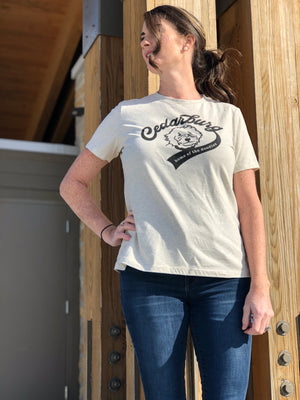 Doodle Women's Relaxed T-Shirt | 8 colors - White Design