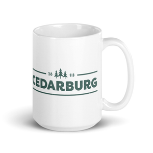 Cedarburg 1843 Ceramic Mug - Teal