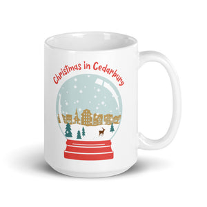 Snow Globe Mug | 2 sizes - Local Delivery