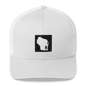 Wisconsin Tree Trucker Cap | 3 colors