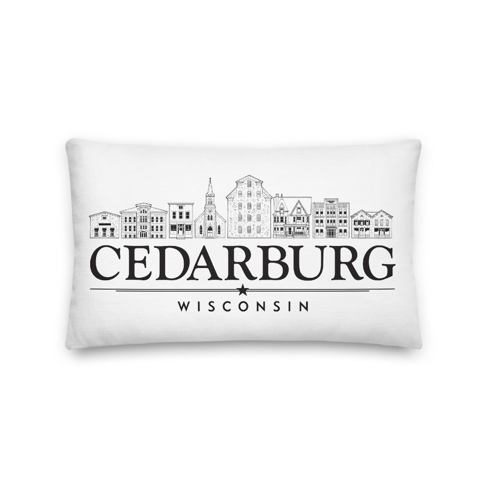 Downtown/Cedarburg Star Premium Pillow 20 x 12