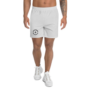 Circle Cedarburg Athletic Shorts in Grey with Black Design