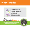 Calming ingredients of ThunderEssense - essential oils for dogs