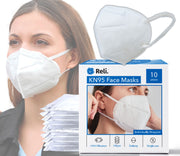 KN95 Face Masks - 10 Masks - FDA Registered