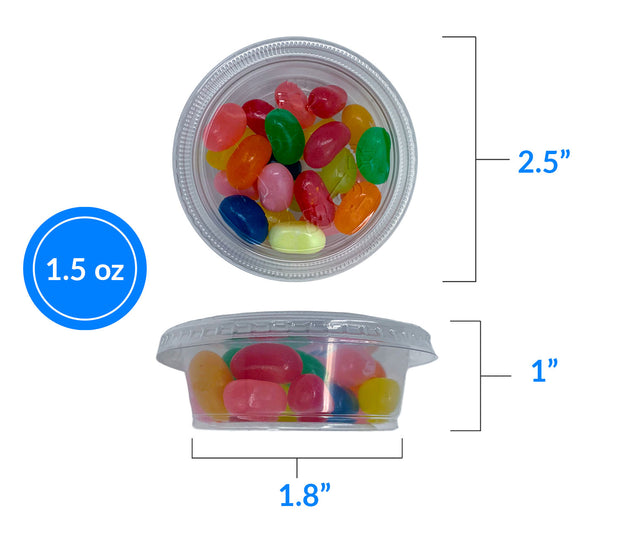 1.5 oz. Portion Cups (250 Count or 500 Count)