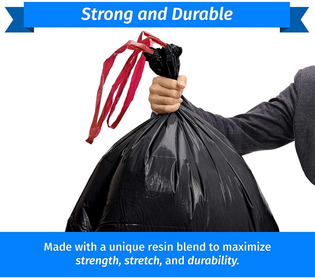 DrawStrong 39 Gallon - 100 or 200 Count - Drawstrings